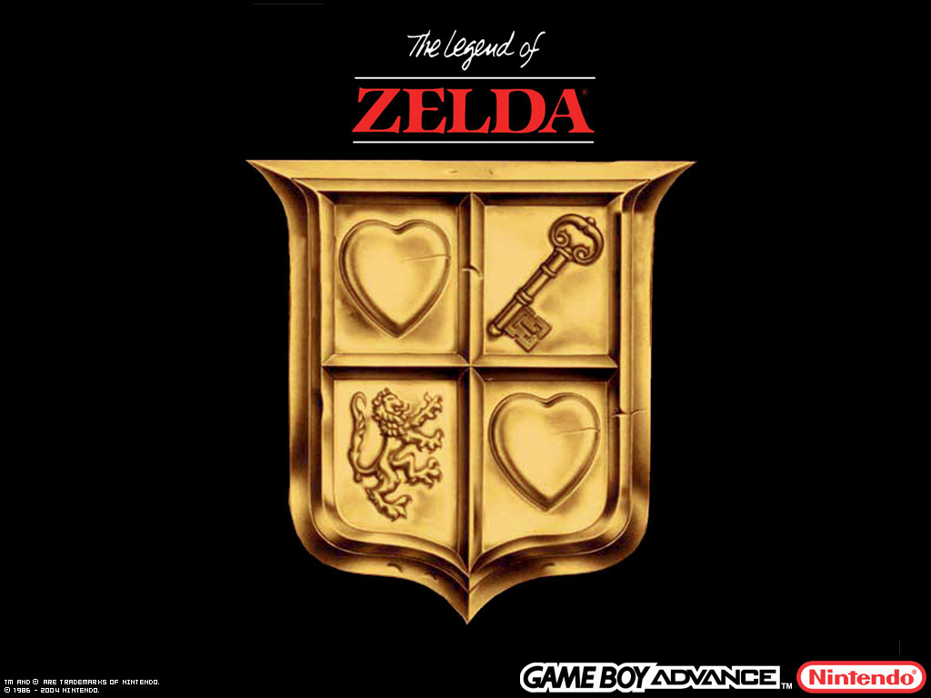 zelda i logo wallpaper