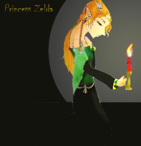The North Castle Zelda Fan Art Gallery: Sailor Lilith-chan