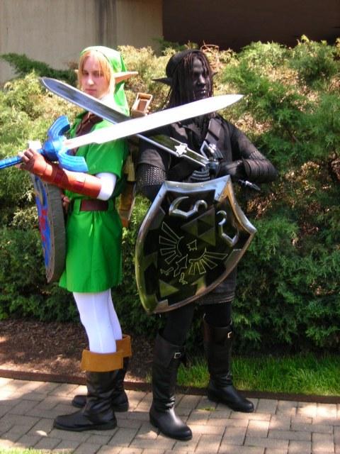 Dark Link And Zelda Cosplay