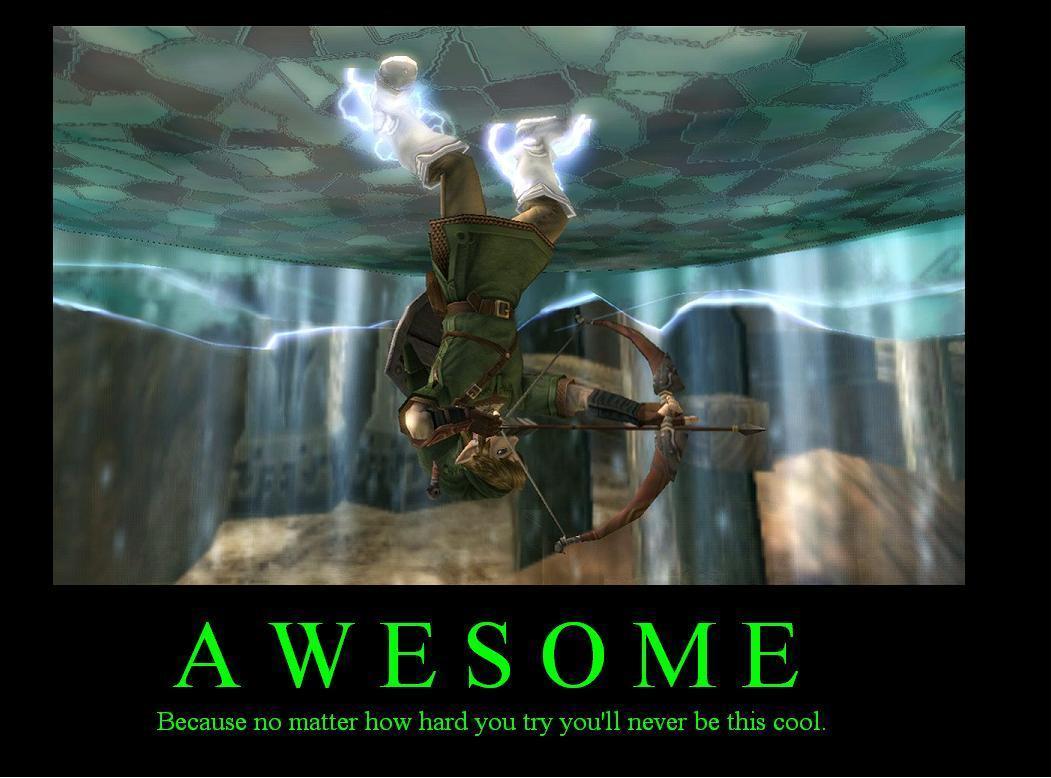 Funny Meme Links : Zelda humour demotivational posters