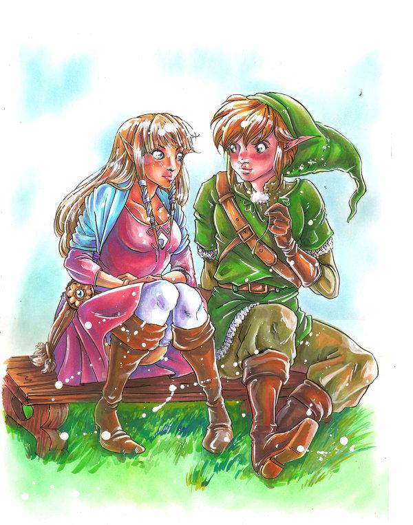 The North Castle Zelda Fan Art Gallery: Link Worshiper